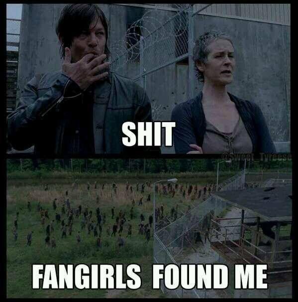 Daryl Dixon's fan girls