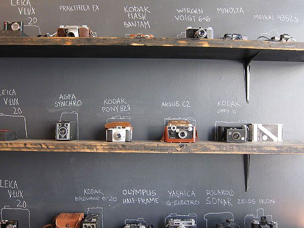 We could do this with Video game systems at my house.   Levi's Photo Workshop: A Stylish DIY Free-for-All
