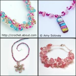 May Holiday Crochet Ideas: Mother's Day Jewelry to Crochet