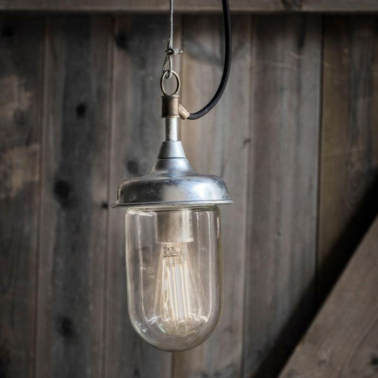 Industrial Harbour Indoor \ Outdoor Pendant Light from The Farthing