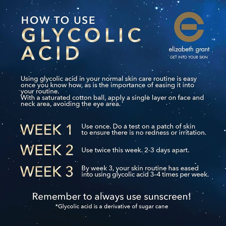 Beauty Tip: Thinking of using Glycolic Acid in your skin care routine? Here's how to do it the right way. From Elizabeth Grant