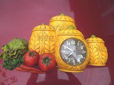 Vintage-1974  Burwood  Kitchen Wall Clock