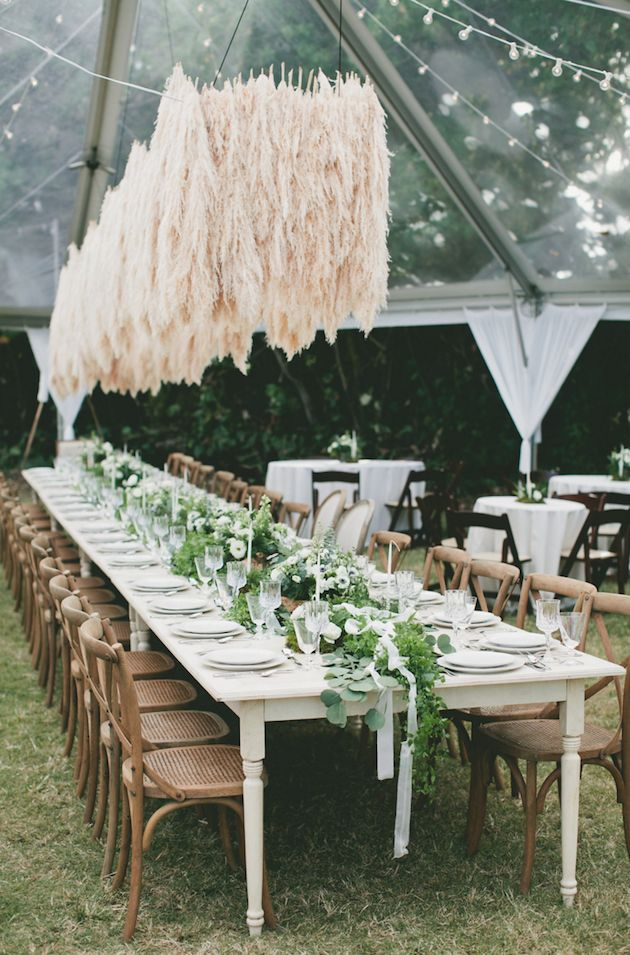Gorgeous Pampas Grass Ideas for your Wedding | Bridal Musings Wedding Blog 40