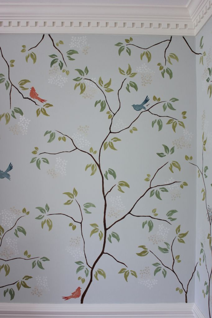 Stencil Chinoiserie Decorating Pinterest