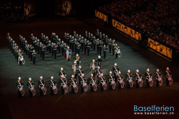 #Basel Tattoo 2013 - Band of HM Royals Marines, Vereinigtes Königreich