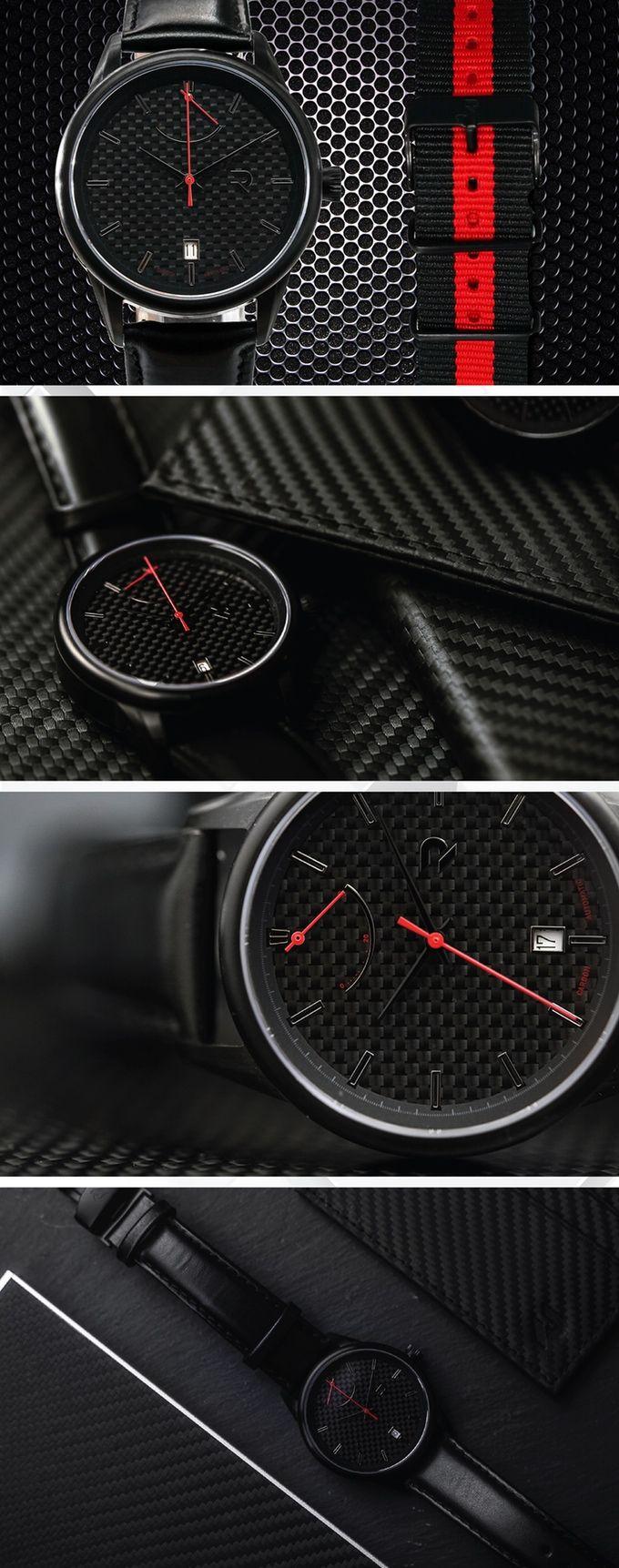 Carbon Auto Clas - Quattro Black/Red