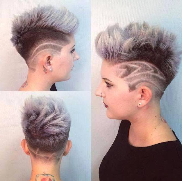 Ausgefallene Frisuren Mit Undercut Ausgefallene Frisuren Frisuren Undercut Frau