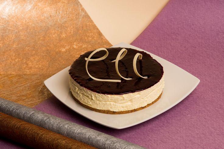 Blackberry cheesecake / Cheesecake de Mora.