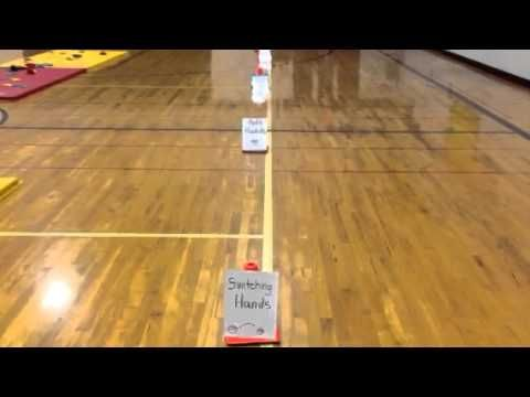 ▶ P.E. Drills tossing and catching - YouTube VISIT carly3.blogspot.com