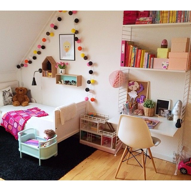 20 best images about children shelf and desk on. Black Bedroom Furniture Sets. Home Design Ideas