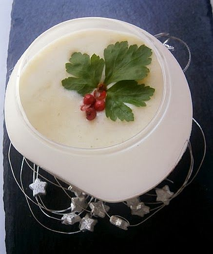 COCINA CON VISTAS: Crema Blanca de Navidad #RecetasSolidariasParaNavidad