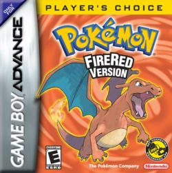 Pokemon FireRed - Game Boy Advance