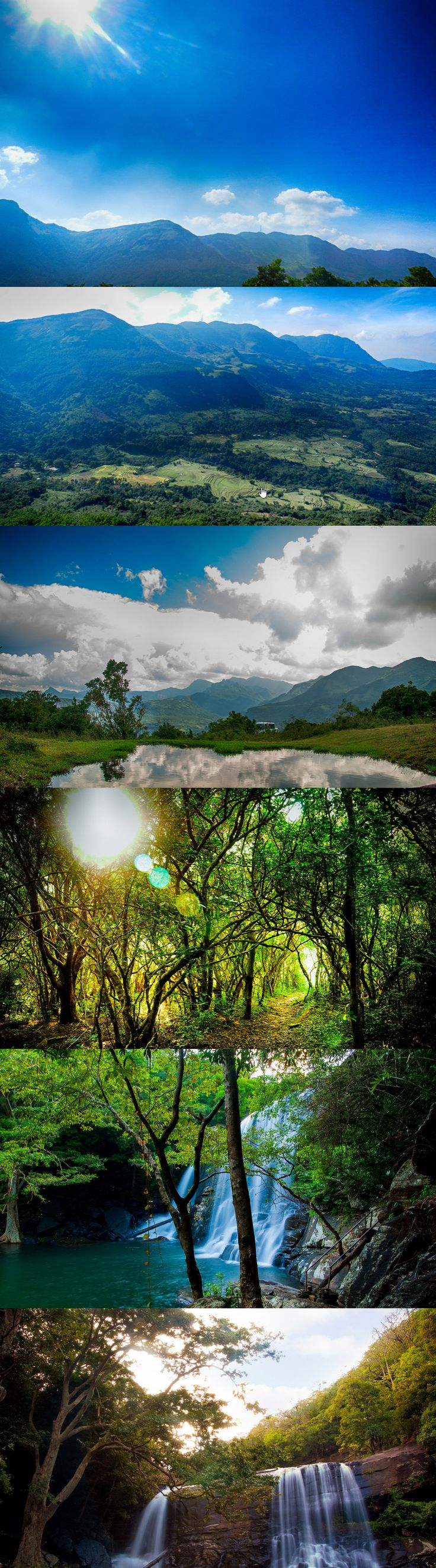 Images from the Knuckles Mountain Range, Sri Lanka #SriLanka #Mountains #Knuckles  Orignal images: by https://www.flickr.com/photos/charithmania/
