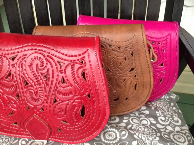 Leather & Lace Bags! Handmade in Morocco, one of a kind #one1earth www.one1earth.com