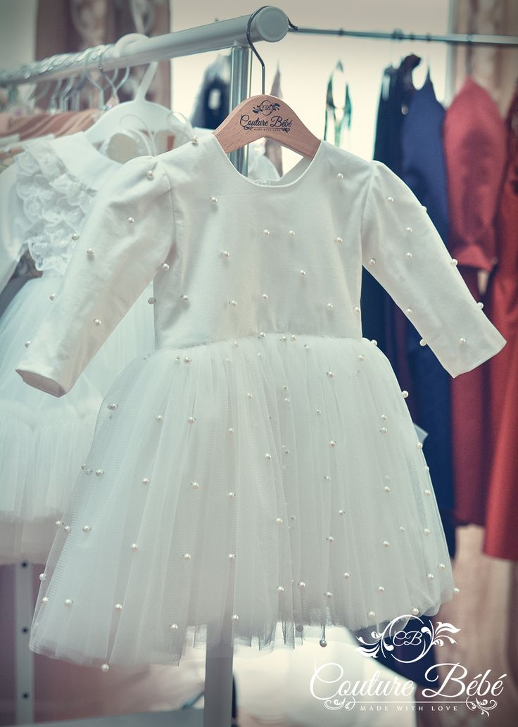 Rochita de botez eleganta Couture Bebe