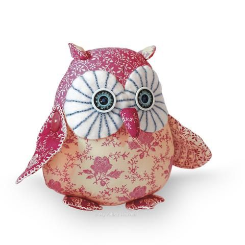 "Twinkle Starry-Eyed Owl 6"" Paper Sewing Pattern"