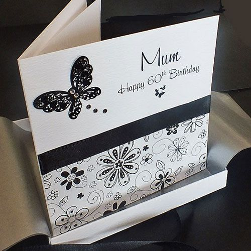 Luxury boxed birthday card for mum, sister, daughter for 18th, 21st, 30th etch birthdays