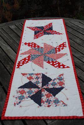 Trillium Design: Patriotic Pinwheels