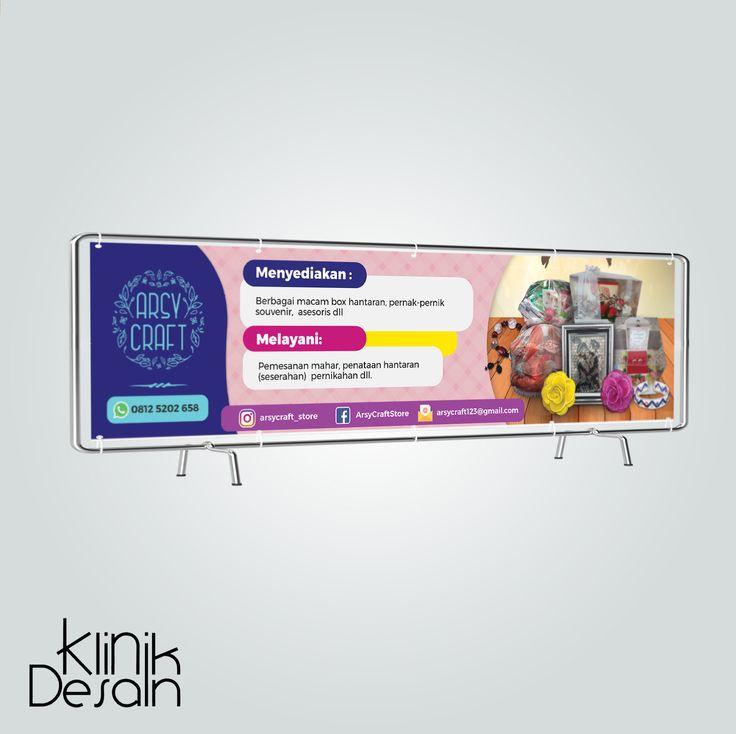 Arsy Craft Banner Design Visit Our Website klinikdesainku ...