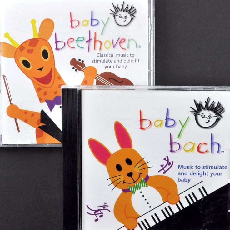 Baby Einstein 3 Cd Lot Language Nursery Beethoven Bach