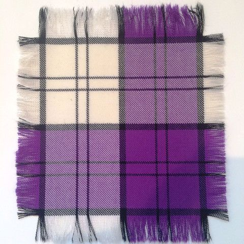 Purple Lennox - 100% Wool Tartan Fabric – Highland In Style