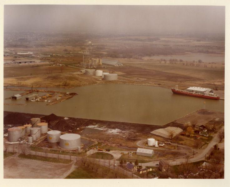 LH0067 Oshawa Harbour - Aerial View (3)