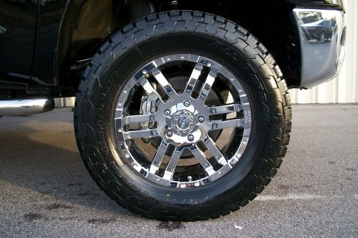 Wheel And Tire Packages For Trucks 4X4