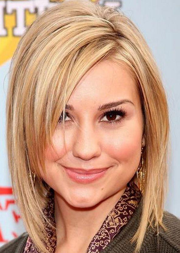 25 Beautiful Medium Length Haircuts For Round Faces Hair