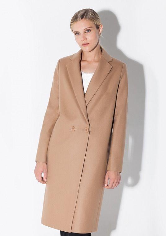 Классическое пальто мужского кроя. Модель 1301