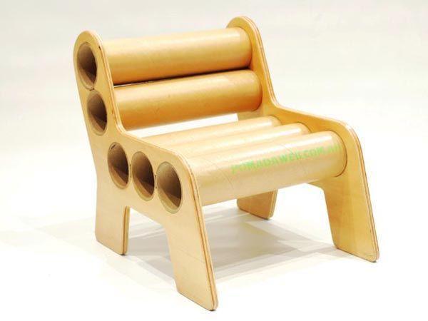 pomadas recycled cardboard furniture 3