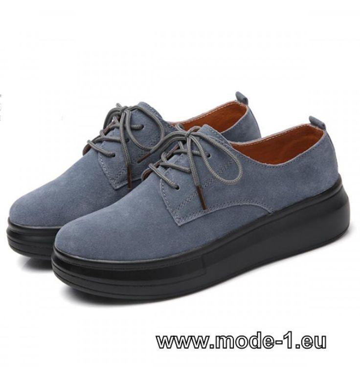 Damen Leder Schuhe in Silber