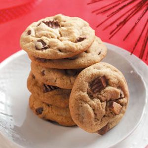 The best-ever peanut butter cup cookies. I don't use chocolate chips- I just double the mini peanut butter cups instead and they are perfect!!