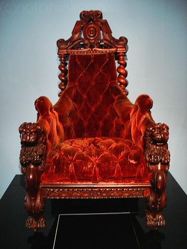 Cadeira de Almeida Garrett @ Museu do Teatro, Lumiar, Lisboa