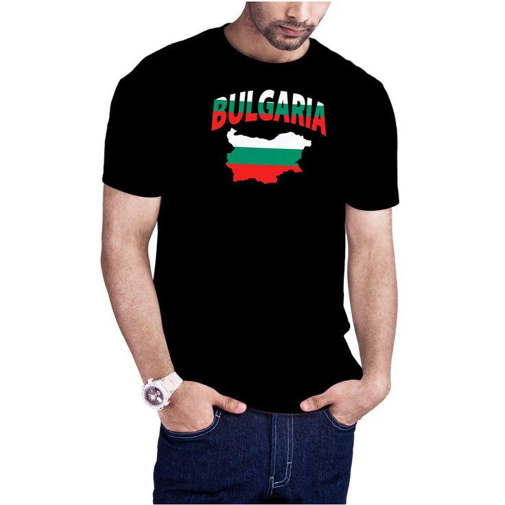 Men's Bulgarian Flag Map Bulgaria flag mapt-shirt by Calidreamers on Etsy