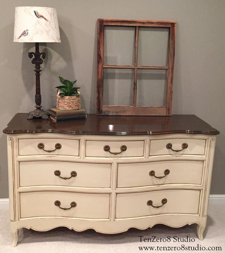 Kimble dresser vintage white, jennifer freeman nu