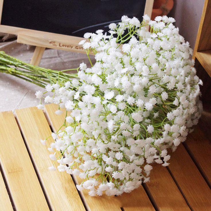 1 Head Silk Artificial baby breath Gypsophila Flower Wedding Home Decor Gift #unbrand