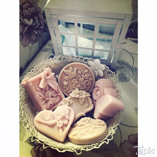 dantel sepette sabun #sabun #soap