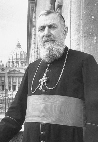 Cardinal Eugène Gabriel Gervais Laurent Tisserant, prefect of the Congregation of Ceremonies