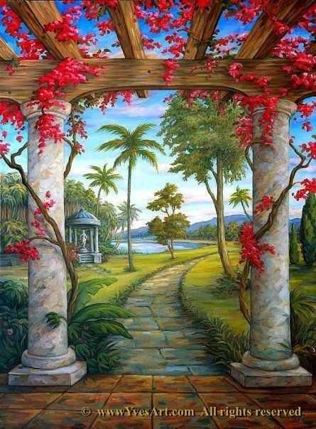 221 best Trompe l\'oeil and Illusion images on Pinterest | 3d street ...