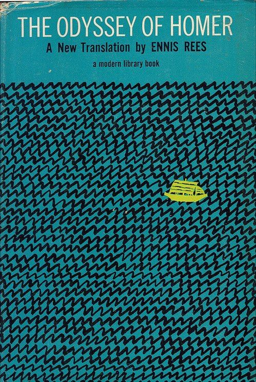This cover reminds me that for Odysseus, much of his journey was him and his crew sailing the seas with nothing in sight. Although it is not very exciting , it does show the parts of the Odyssey that are not so epic.