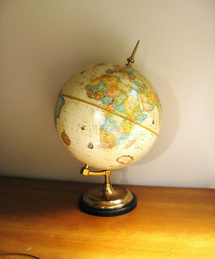 171 best vintage world globes images on pinterest world globes vintage world globe gumiabroncs Image collections