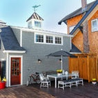 Historic Beach House Renovation - eclectic - garage and shed - philadelphia - Knight Architects LLC