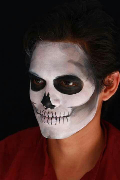 Maquillaje por Andrea Romero día de muertos