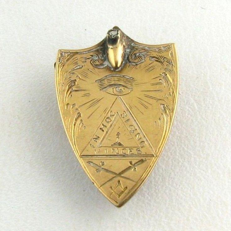Antique Knights Templar Ring