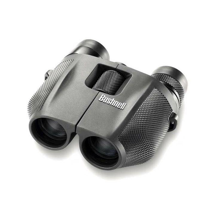 Bushnell - 7-15x25 Powerview Binoculars Porro Prism Black - #binoculars