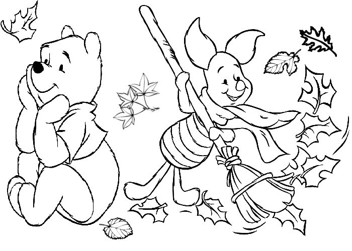 free coloring autumn day free fall coloring pages for kids disney coloring pages