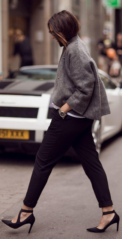Balenciaga Black Pointy Toe Asymmetric T-strap Stilettos