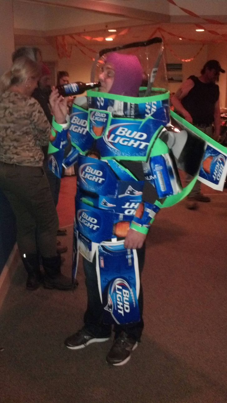 Bud Light Year Pop culture halloween costume, Cool