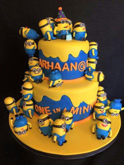 Torta Minions 56