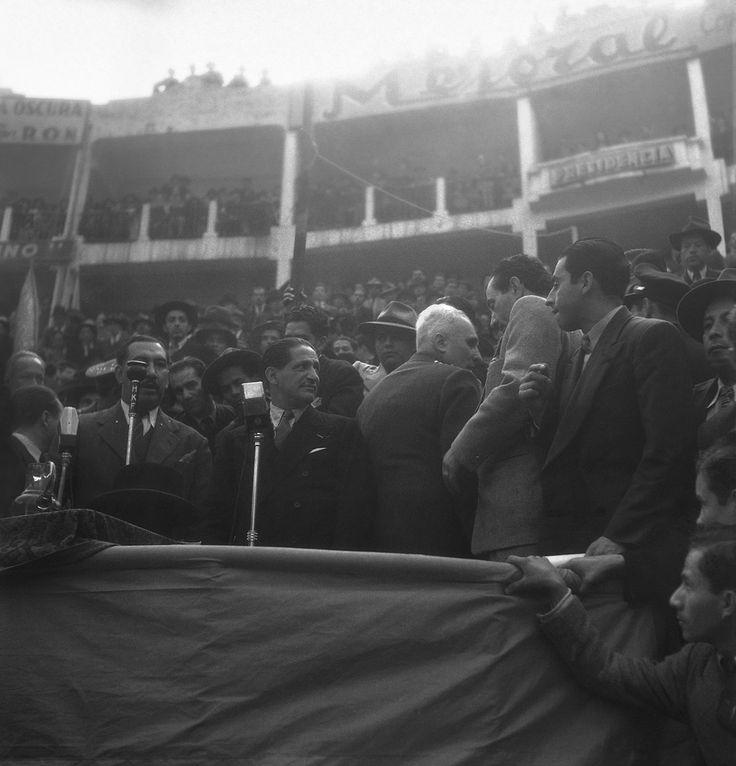 Jorge Eliécer Gaitán en campaña, circo de Santamaría | Sady Gonzalez